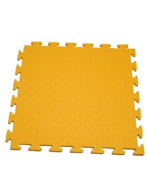 Маты - пазлы для фитнесса и тренажеров DFC 1 элемент Жёлтый