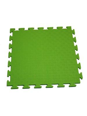 Маты - пазлы для фитнесса и тренажеров DFC 1 элемент Зелёный