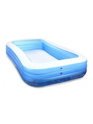 54009 Бассейн прямоугольный голубой 305 х 183 х 56 см