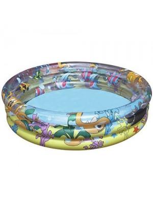 51008 Бассейн надувной круглый, 102*25 см