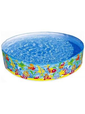 "Детский каркасный бассейн ""Океан"", 183*38 см INTEX-56452"