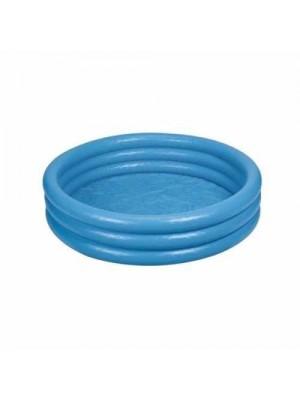 58446NP Бассейн голубой, 3 кольца, 168х38 см, 3+