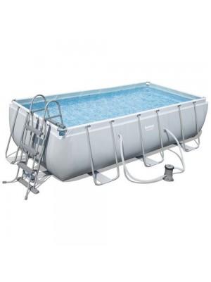 56251 Каркасный бассейн Power Steel 404х201х100 см, с фильтром насосом