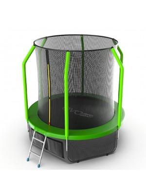 Батут EVO Jump Cosmo 6ft (Green) + Нижняя сетка