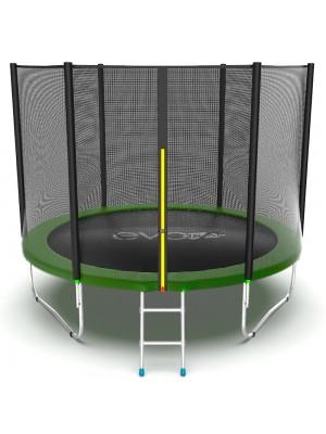 Батут EVO Jump External 10ft (Green) с внешней сеткой и лестницей