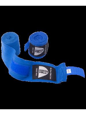 Бинт боксерский BC-6235a, 2.5м-3.5м, х/б, синий