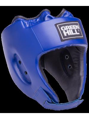 Шлем открытый Green Hill ALFA HGA-4014, к/з, синий