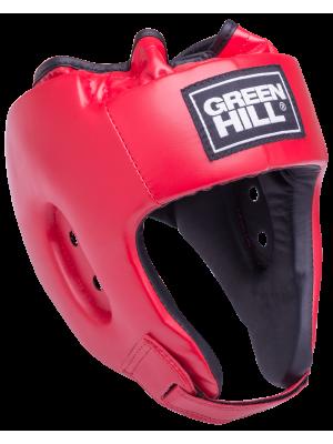 Шлем открытый Green Hill ALFA HGA-4014, к/з, красный