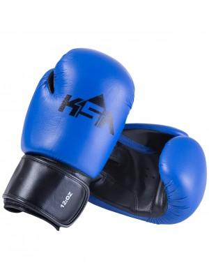 Перчатки боксерские Spider Blue, к/з, 4oz