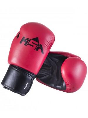 Перчатки боксерские Spider Red, к/з, 4oz