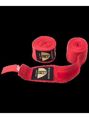 Бинт боксерский BC-6235c, 3.5 м, х/б, красный