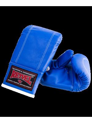 Перчатки снарядные Reyvel RV-201, к/з, синие