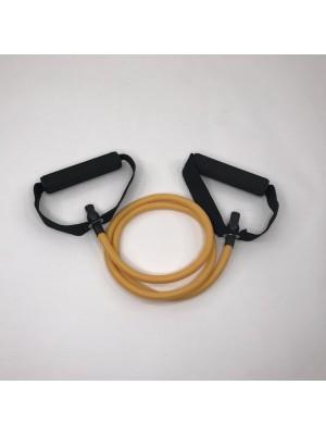 Желтый трубчатый эспандер STEMFIT (5-7 кг)