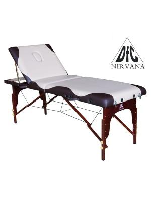 Массажный стол DFC NIRVANA Relax Pro (бежевый с коричневым)
