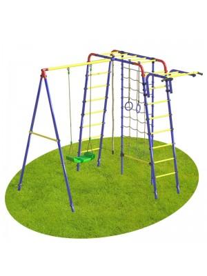 Детский спортивный комплекс уличный Атлет с сеткой