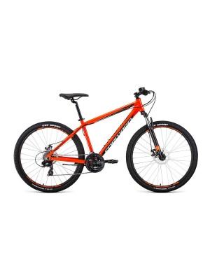 """Велосипед 27,5Ø Forward Apache 2.0 disc AL (19"""") Оранжевый/Черный 19-20 г"""