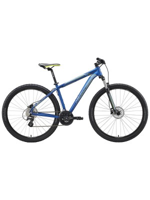 "Велосипед Merida Big.Nine 15-D 29Ø SilkMediumBlue/Silver/Yellow 2020 (19"")"