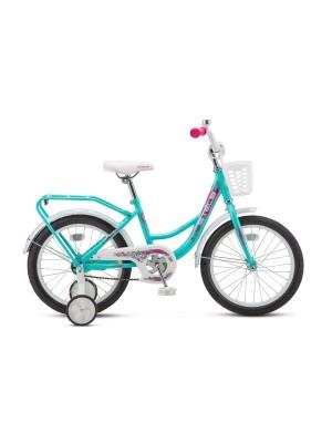 Велосипед Stels 16Ø Flyte Lady Z010 (LU089092) (Бирюзовый)