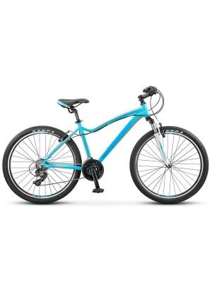 "Велосипед Stels Miss-6000 V V030 26Ø Морская-волна/Оранжевый (17"")"