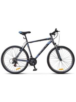 "Велосипед Stels Navigator 500 V V020 26Ø Антрацитовый/Синий (18"")"