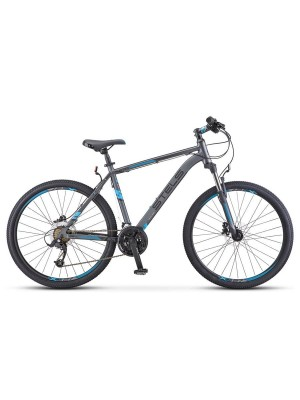 "Велосипед Stels Navigator 640 D V010 26Ø Серый/Синий (LU091518) (19"")"