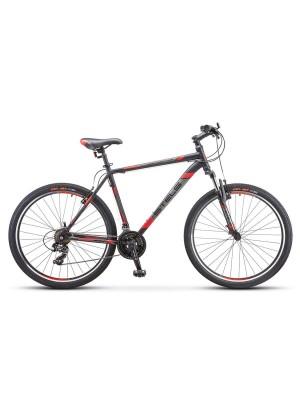 """Велосипед Stels 700 V V020 Черный/красный 27.5Ø (LU093447) (19"""")"""