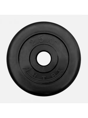 Диск обрезиненный АНТАТ 2.5 кг, Ø26 мм